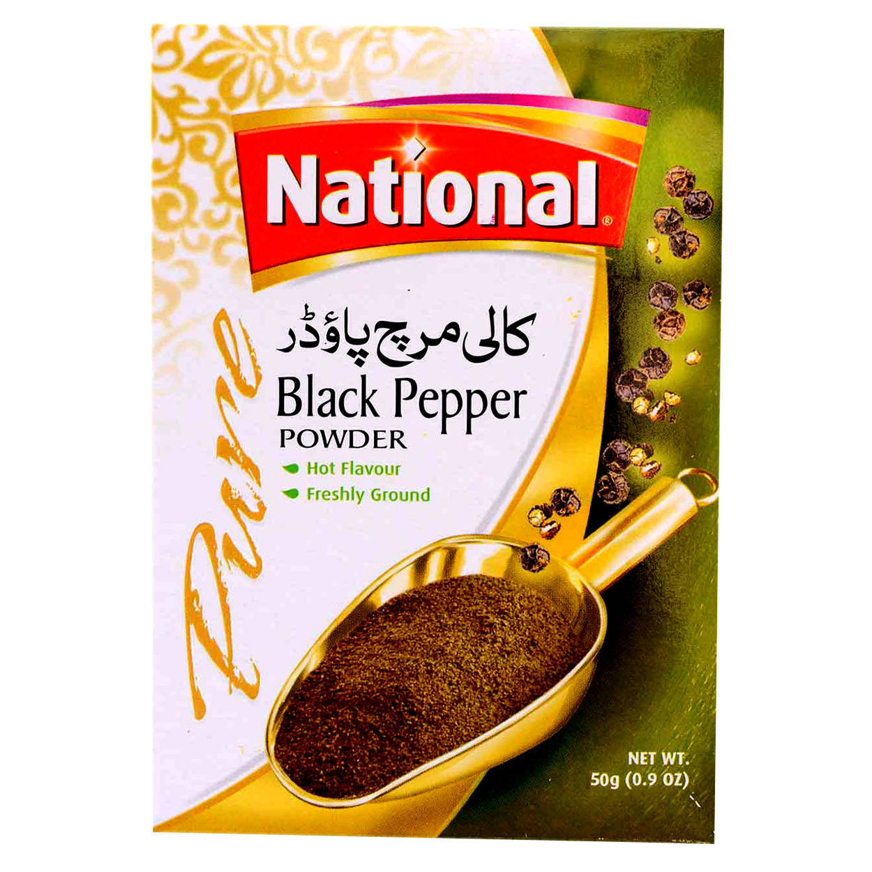National Black Pepper Powder Spices 50gm